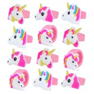 Deluxe Unicorn Party Bag (12 Pack) 5 12 x rings