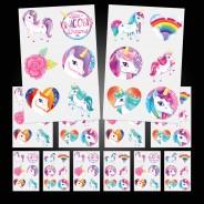 Unicorn Temporary Tattoos (12 pack) 1