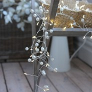 Pearl Cluster Battery Operated Fairy Lights  2
