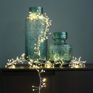 Pearl Cluster Battery Operated Fairy Lights  1