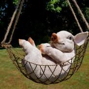 Pig in a Hammock 1