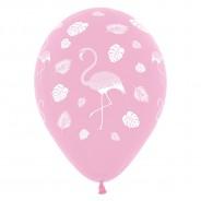 25 x Pink Flamingo Balloons 3