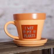 Plant Pot Mug - I Wet My Plants 2