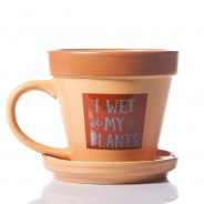 Plant Pot Mug - I Wet My Plants 3