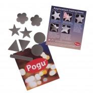 Pogu Reflective Textile Shapes 5