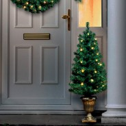 Pre Lit Christmas Door Set 3