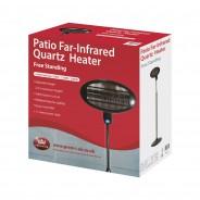 Patio Heater 2Kw Pole Mounted - Prem-I-Air 2