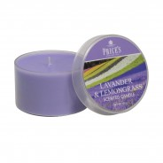 Price's Scented Candle Tins 4 Lavender & Lemongrass