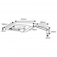 Pro Solar Hiway High Output PIR Motion Sensor Light 5