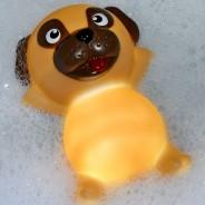 Pug Light Up Bath Plug 1