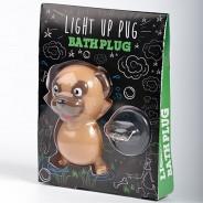 Pug Light Up Bath Plug 3