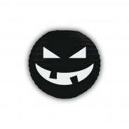 Pumpkin 3D Paper Lantern Shades 2 Black