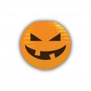 Pumpkin 3D Paper Lantern Shades 3 Orange