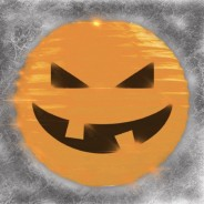 Pumpkin 3D Paper Lantern Shades 1