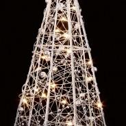 28cm Wire Pyramid Light 2