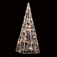 28cm Wire Pyramid Light 1