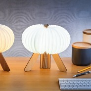 Gingko R Space Rechargeable Lamp 3 Maple