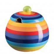Rainbow Ceramics Tea & Coffee Essentials  14 Sugar Bowl