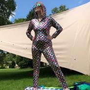 Rainbow Hooded Cat Suit 3