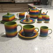 Rainbow Ceramics Tea & Coffee Essentials  8