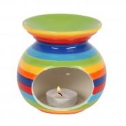 Rainbow Stripe Oil Burner 2