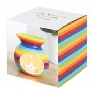 Rainbow Stripe Oil Burner 4