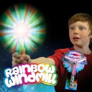 Flashing Rainbow Windmill Wholesale 3