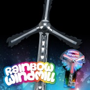 Flashing Rainbow Windmill Wholesale 4