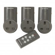 Remote Controlled Mains Socket Adaptor (3 pack) 2
