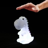 Rechargeable Dino Night Light 2 Tap to change colour mode