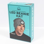 USB Rechargeable Beanie Hat Torch 3