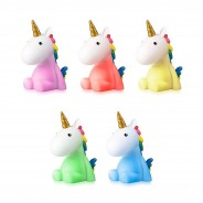 Rechargeable Unicorn Night Light 3 One night light supplied