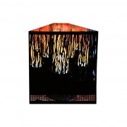 Red Led Vine Firebox - Flame Effect for Unused Fire Place 3