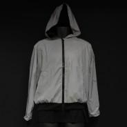 Reflective Hooded Bomber Jacket 4