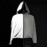 Reflective Hooded Bomber Jacket 3