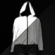 Reflective Hooded Bomber Jacket 2