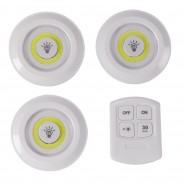 Remote Control Glo-Disc Downlighters (3 pack) 2