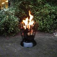 Reversible Fire Basket and Bowl 1