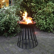Reversible Fire Basket and Bowl 2