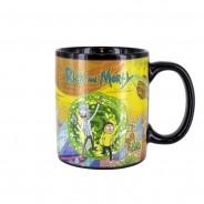Rick and Morty Portal Heat Change Mug 3 Hot