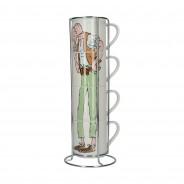 Roald Dahl Fine China Stacking Mug Sets 8 The BFG