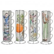 Roald Dahl Fine China Stacking Mug Sets 3