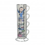 Roald Dahl Fine China Stacking Mug Sets 14 Matilda
