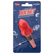 Light Up Rocket Bottle Stopper 3