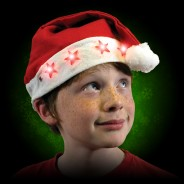 Flashing Santa Hats 3