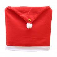 Santa Hat Chair Cover 4