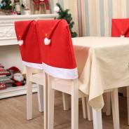 Santa Hat Chair Cover 1