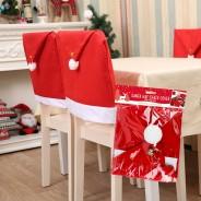 Santa Hat Chair Cover 3