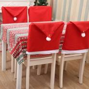 Santa Hat Chair Cover 2