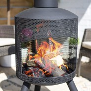 Santana Chimenea Fireplace 4